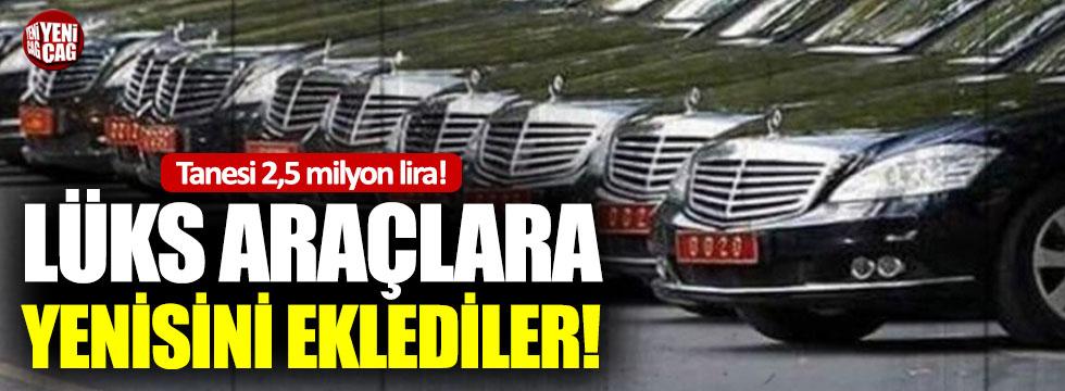 Ticaret Bakanlığı'na milyonluk lüks araçlar alındı iddiası