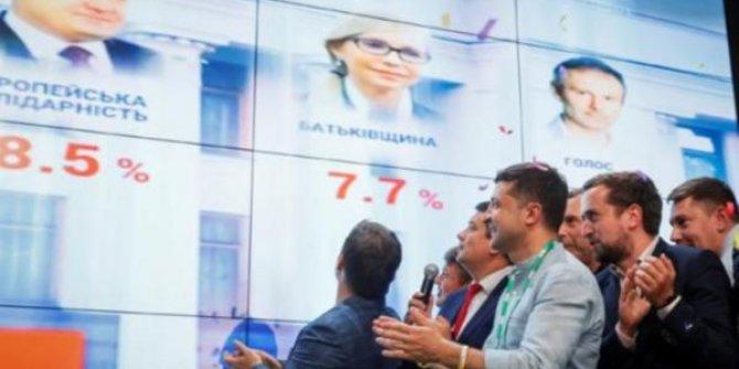 Ukrayna'da erken seçim sonuçlandı