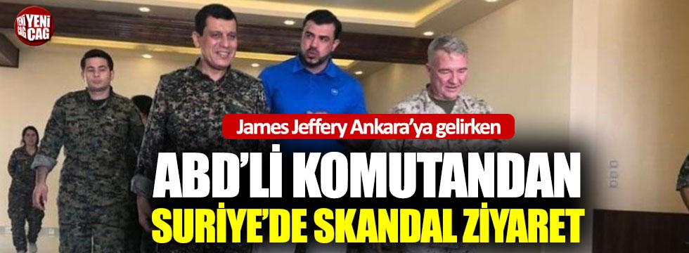 ABD'li komutandan YPG ile skandal görüşme