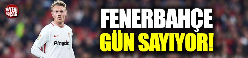 Fenerbahçe, Simon Kjaer için gün sayıyor!