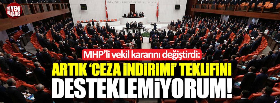 """MHP'li Enginyurt: """"Arık Ceza İndirimi teklifini desteklemiyorum"""""""