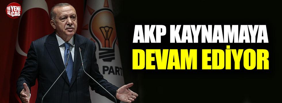 AKP kaynamaya devam ediyor