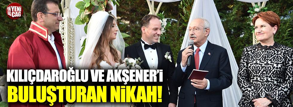CHP'li Yavuzyılmaz'ın nikah şahitleri Kılıçdaroğlu ve Akşener oldu