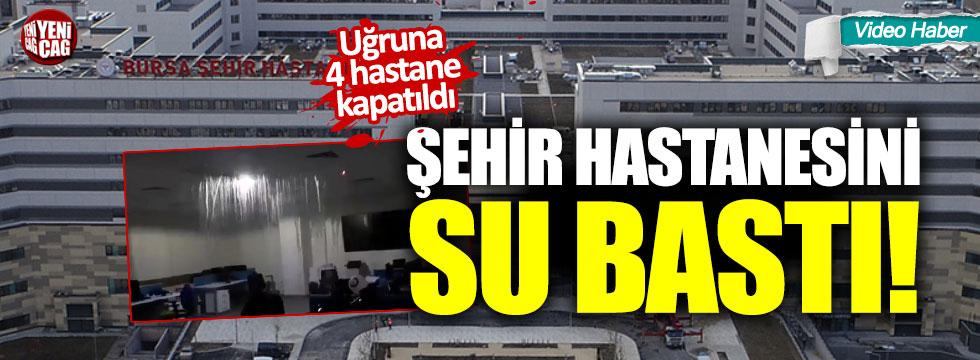 4 hastanenin kapatılmasına neden olan şehir hastanesini su bastı