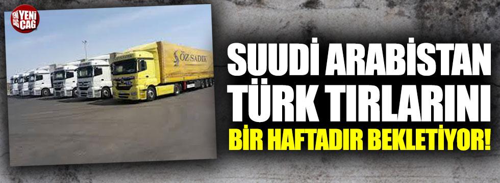 Suudi Arabistan'da Türk TIR'larının bekleyişi sürüyor