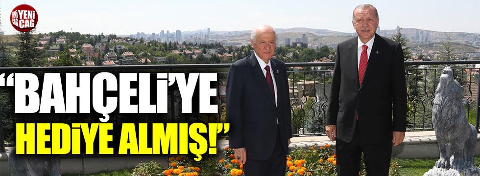 Mehmet Şeker: Erdoğan, Bahçeli'ye bir ev hediyesi götürmüş