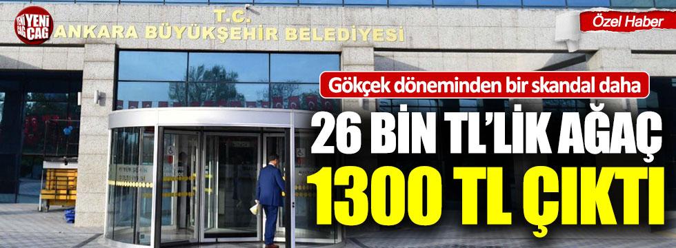 Ankara'da Gökçek döneminden bir skandal daha