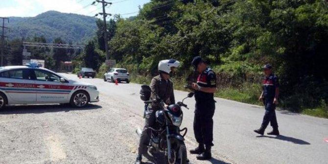 Güvenlik güçlerinden 81 ilde motosiklet uygulaması