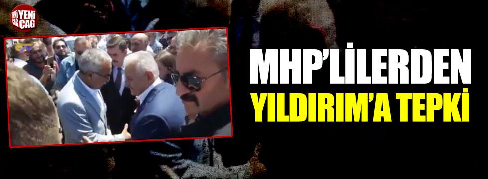 MHP'lilerden Binali Yıldırım'a tepki!