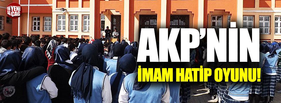AKP'nin imam hatip oyunu!