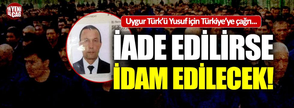 Doğu Türkistan Türk'ü, Çin'e sınır dışı edilecek