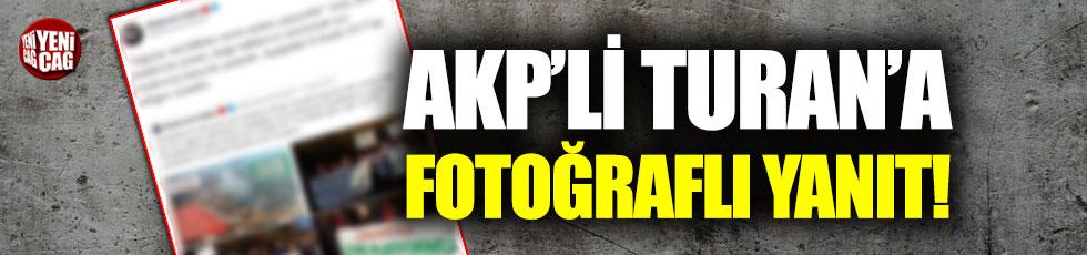 CHP'den AKP'li Bülent Turan'a fotoğraflı yanıt