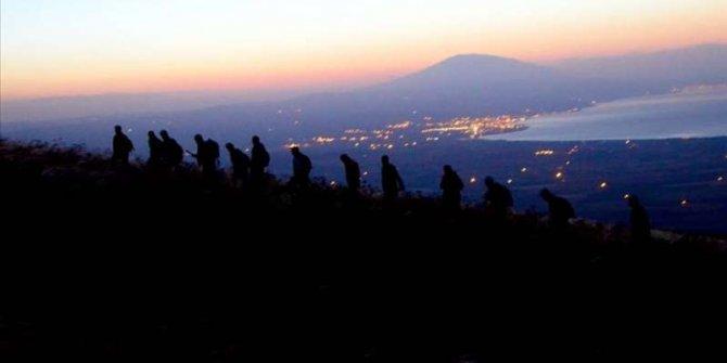 Dağcılar Nemrut'ta zirveye uzandı