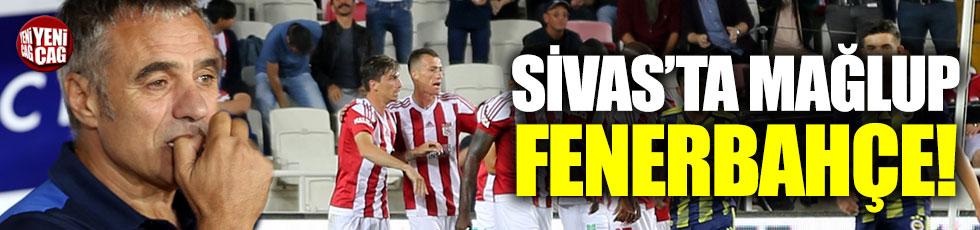 Sivasspor-Fenerbahçe  2-1 (Maç özeti)