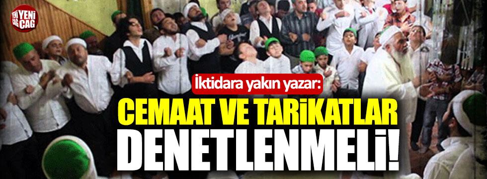 """AKP'li Tosun: """"Cemaat ve tarikatlar denetlenmeli"""""""