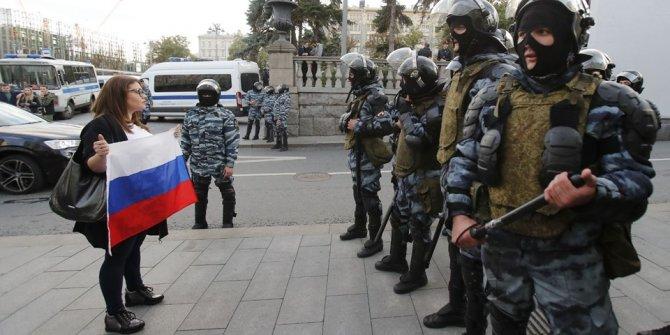 "Moskova'da ""adil seçim"" protestosu"