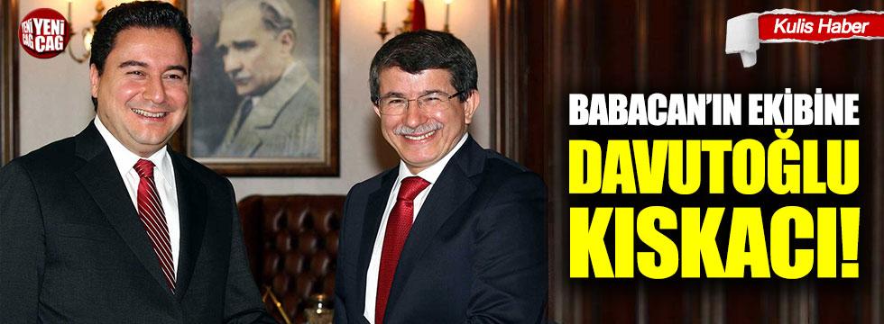 Babacan'ın ekibine Davutoğlu kıskacı!