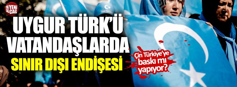 Türkiye'deki Uygur Türklerinde sınır dışı endişesi