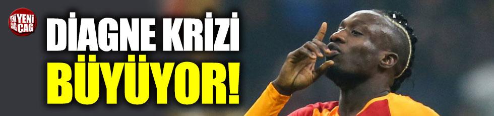 Galatasaray'da Diagne krizi büyüyor
