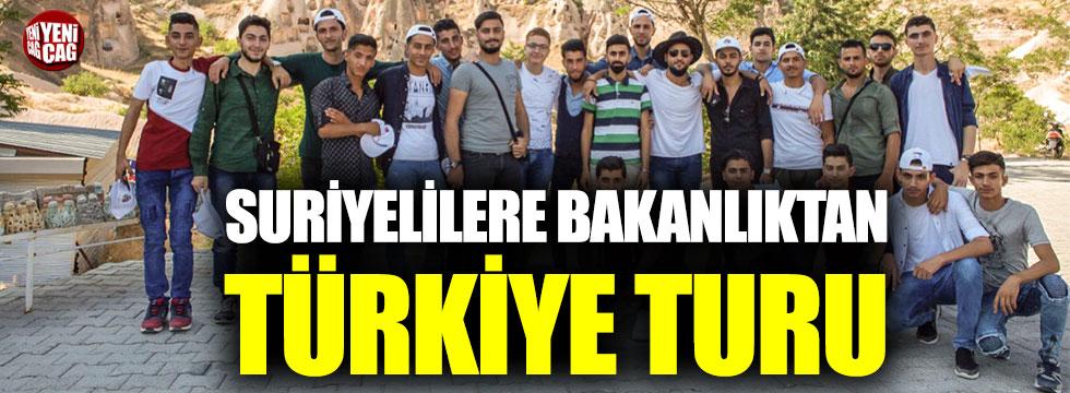 Bakanlıktan Suriyeli sığınmacılara Türkiye turu