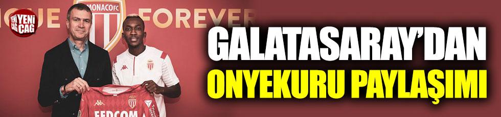 Galatasaray'dan Onyekuru paylaşımı