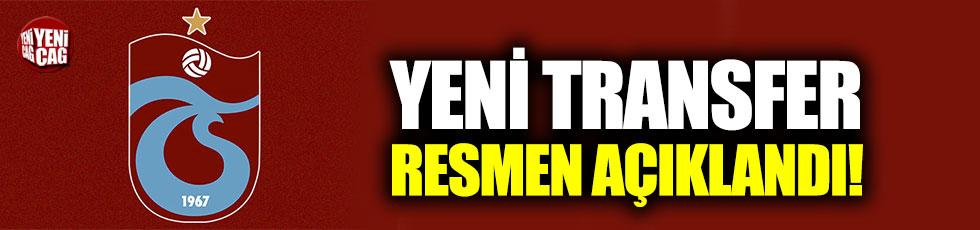 Trabzonspor, Edgar Le transferini resmen açıkladı