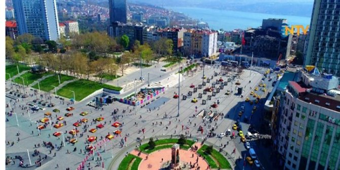 Taksim Meydanı peyzajı için yarışma