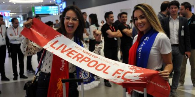 Liverpool, İstanbul'a geldi