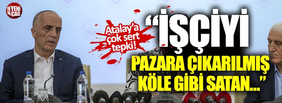 Lütfü Türkkan'dan Ergün Atalay'a sert tepki