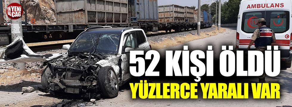 Bayram tatilinde 52 kişi trafikte can verdi