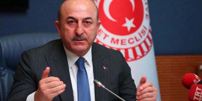"""Çavuşoğlu: """"YPG ve PKK'lılar bölgeden çıkarılmalı"""""""
