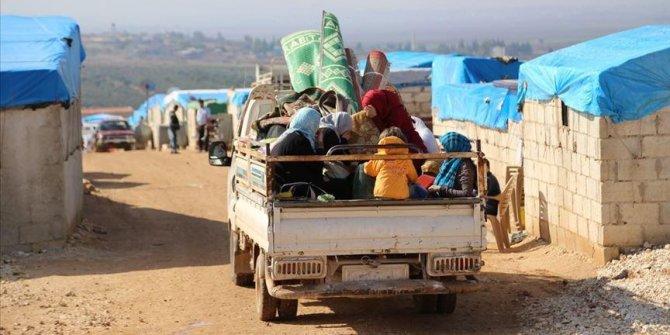 124 bin Suriyeli Türkiye sınırına dayandı!