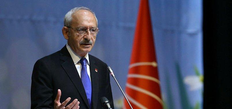CHP lideri Kılıçdaroğlu'ndan iktidara çağrı