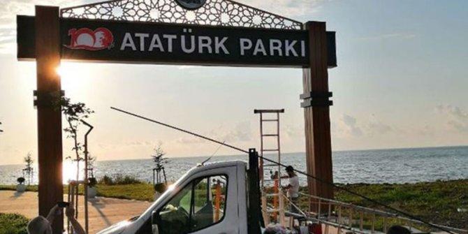 Fındıklı'da 'Atatürk Parkı' tartışması devam ediyor