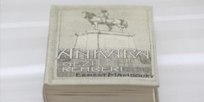 1933'te yazılan rehber Ankara'nın tarihine ışık tutuyor