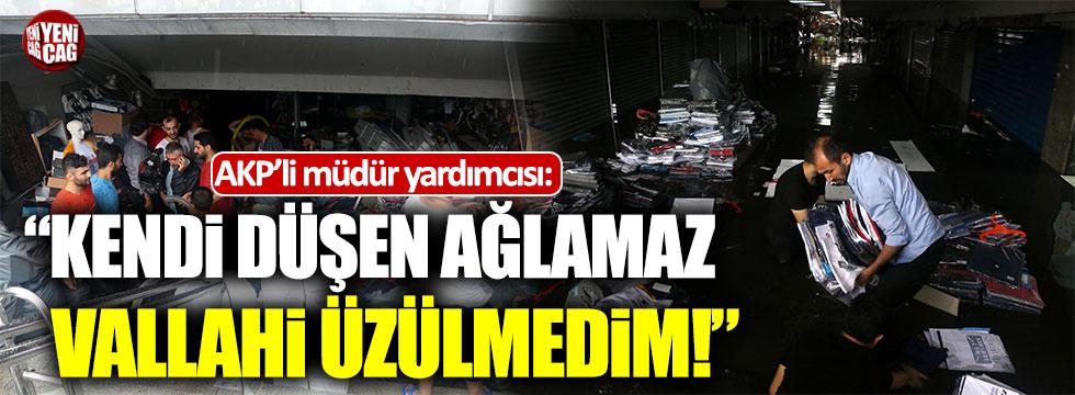 """AKP'li müdür yardımcısı: """"Vallahi İstanbul'a zerre üzülmedim"""""""