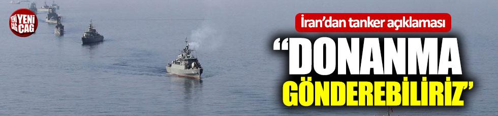 """İran: """"Donanmamızı gönderebiliriz"""""""