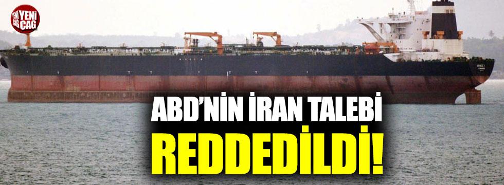 Cebelitarık, ABD'nin İran talebini reddetti