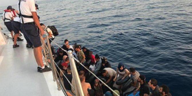 Kuşadası'nda 56 düzensiz göçmen yakalandı
