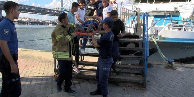 Haliç Metro Köprüsü'nde feci kaza!
