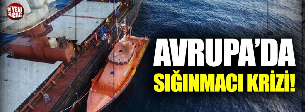 İspanya ile İtalya arasında sığınmacı krizi!