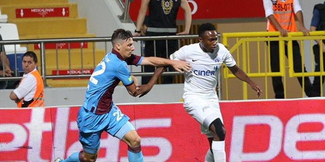 Trabzonspor ile Kasımpaşa berabere kaldı