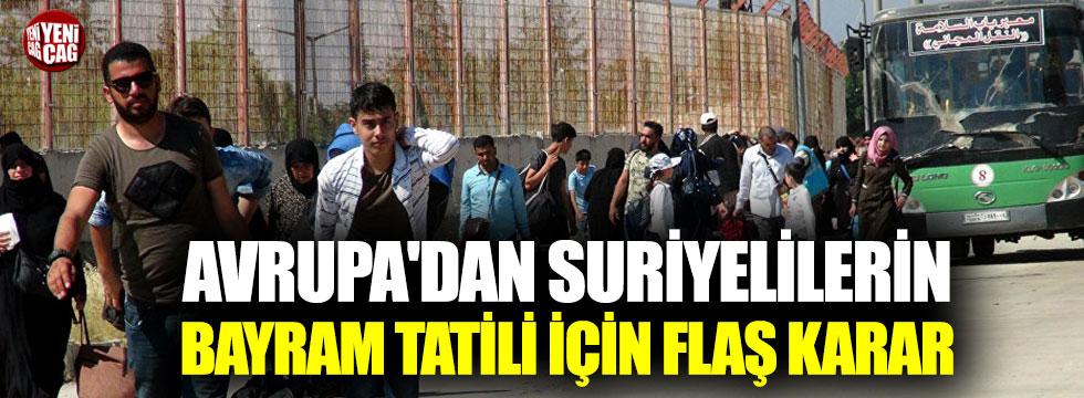 Almanya'dan dikkat çeken Suriyeli kararı