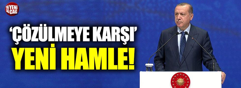 Erdoğan'dan 'Çözülmeye karşı' yeni hamle