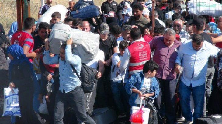 """Suriyeli sığınmacılar """"tatilden"""" dönmeye başladı!"""