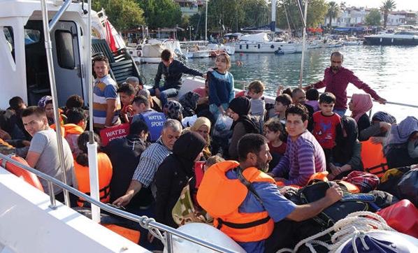 Çanakkale'de 80 kaçak göçmen yakalandı