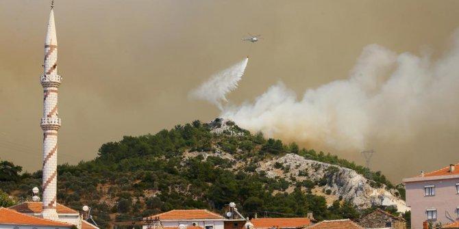İzmir'deki yangın iki ilçeye daha sıçradı