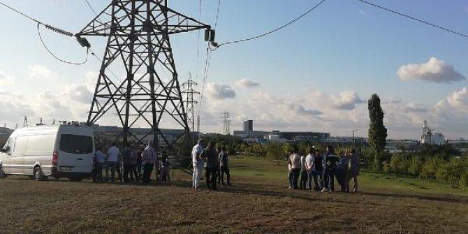 Organize Sanayi Bölgesi'nde bomba alarmı