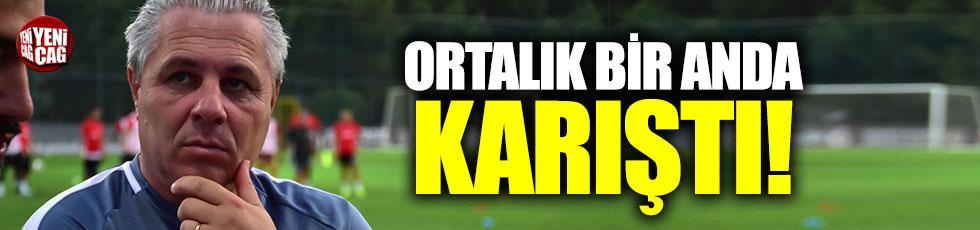 Fenerbahçe-Gaziantep maçında gerginlik
