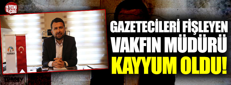 Gazetecileri fişleyen SETA'nın genel müdürü kayyum oldu!